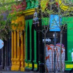 Visiting Barrio Bellavista in Chile