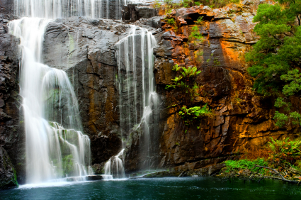 Waterfall in the Grampians, Victoria.